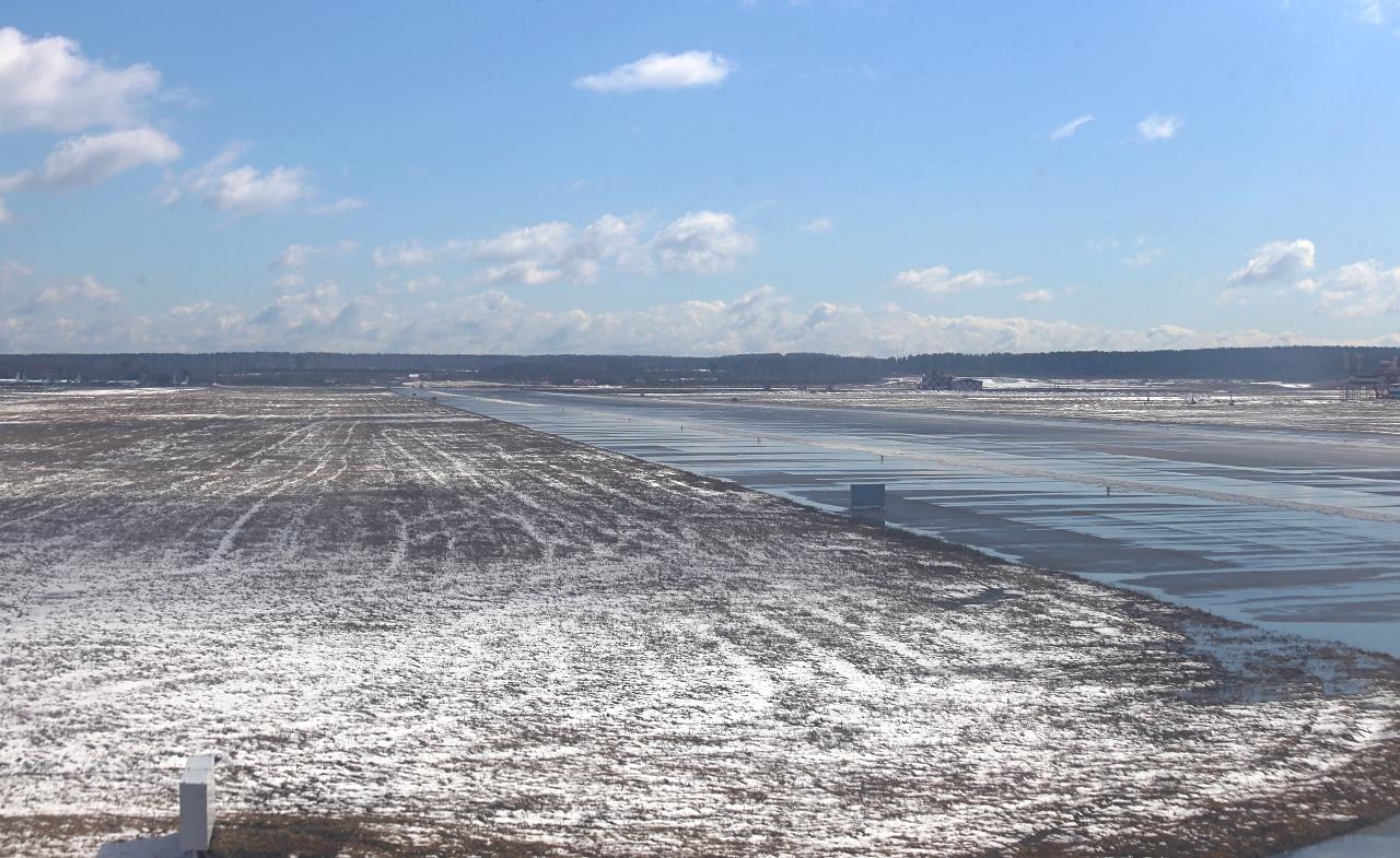 Airport Yekaterinburg-Koltsovo runway