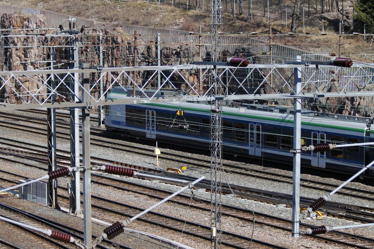 Helsinki. Linnulaulu. Railway