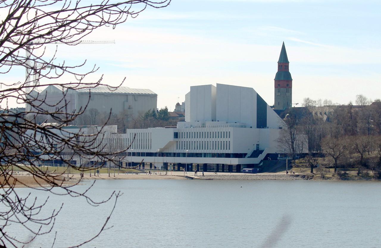 Helsinki. Finlandia Palace