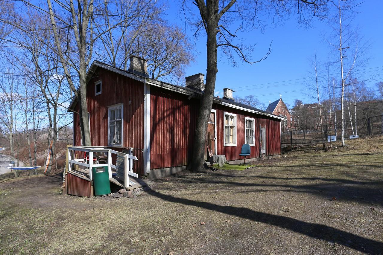 Helsinki. Linnulaulu Park. Wayfarer's house