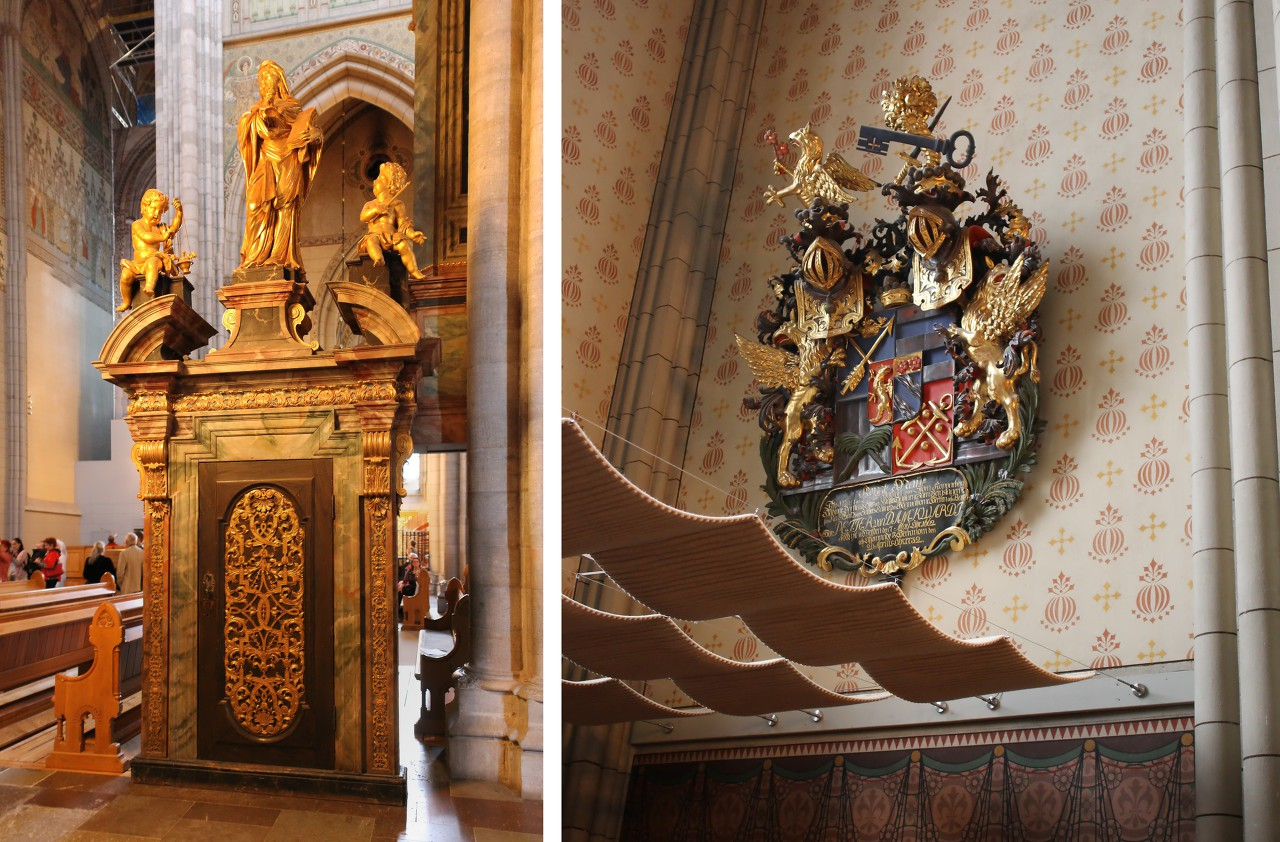 Интерьеры Уппсальского собора