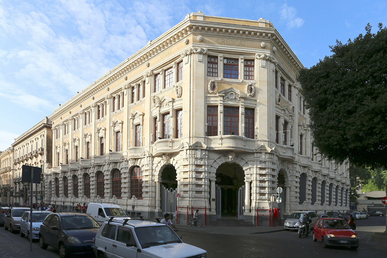 Palace of the Post, Catania