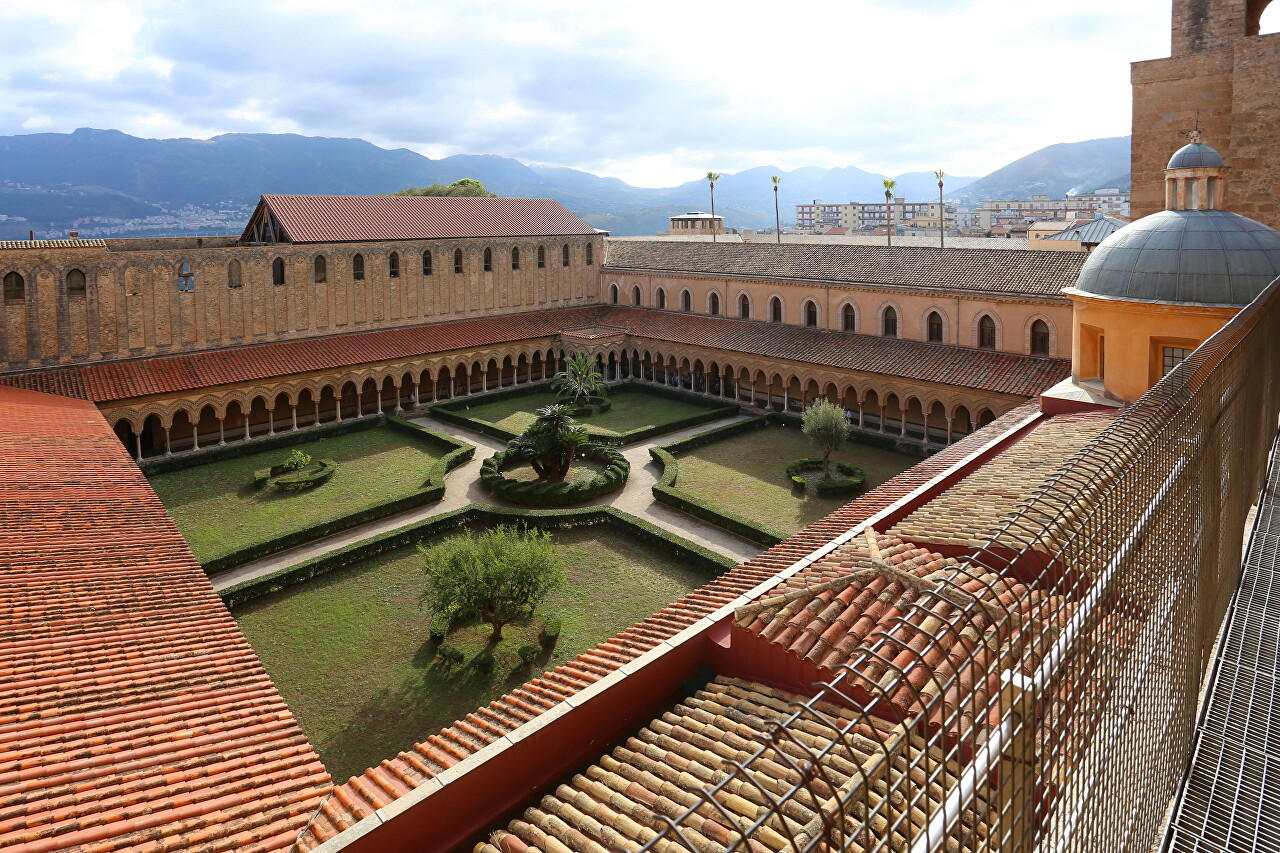 Roof of Monreale Cathedral